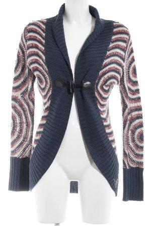 Desigual Strick Cardigan abstraktes Muster Casual-Look