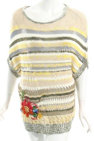 Desigual Strickshirt mehrfarbig Casual-Look