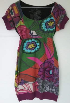 Desigual ,Sweat - Kleid, Applikationen, Blumen Gr.36