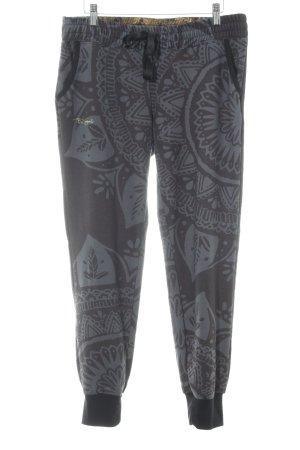 Desigual Pantalon de jogging Mélange de motifs style décontracté