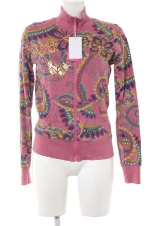 Desigual Veste sweat motif floral style décontracté