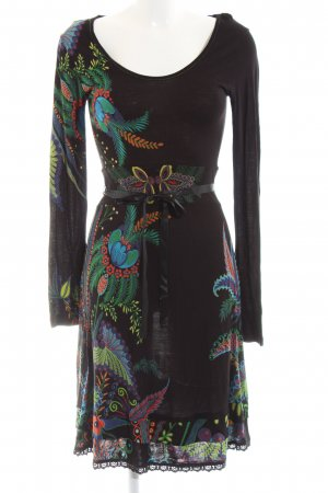 Desigual Sweat Dress abstract pattern casual look