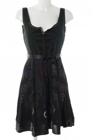 Desigual Sweatkleid Mustermix Casual-Look