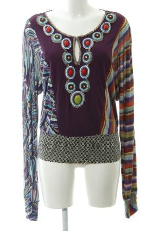 Desigual Sweatshirt abstract patroon casual uitstraling