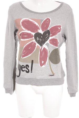 Desigual Suéter estampado floral look casual