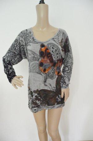 Desigual Sweatshirt Size M Schmetterling