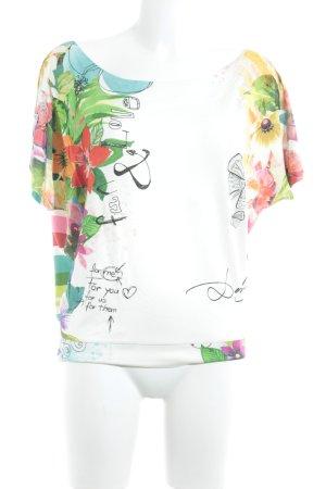 Desigual T-Shirt abstrakter Druck Casual-Look