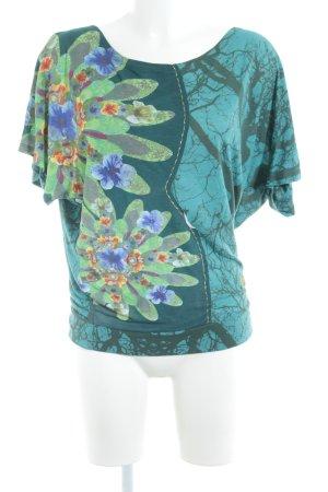 Desigual T-Shirt abstraktes Muster Boho-Look