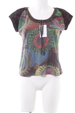 Desigual T-Shirt abstraktes Muster Gypsy-Look