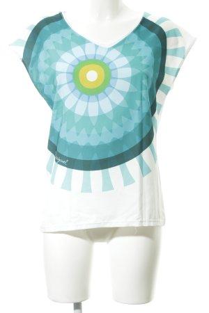 Desigual T-Shirt Blumenmuster Casual-Look