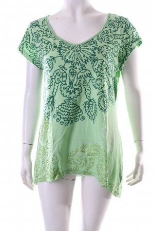 Desigual T-Shirt florales Muster Ethno-Look