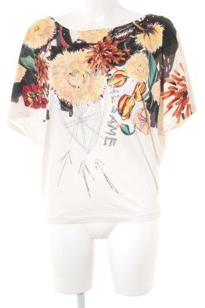 Desigual T-Shirt florales Muster extravaganter Stil