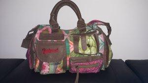 Desigual Gekruiste tas roodbruin-groen