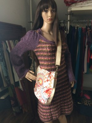 Desigual Shoulder Bag cream-red