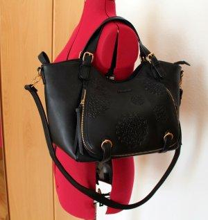 Desigual Accessoire noir-doré faux cuir