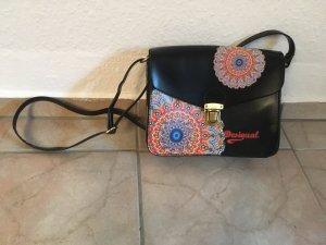 Desigual Tasche schwarz mit Ornamenten