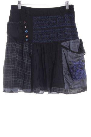Desigual Circle Skirt multicolored mixture fibre