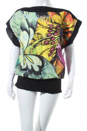 Desigual Top florales Muster Gypsy-Look