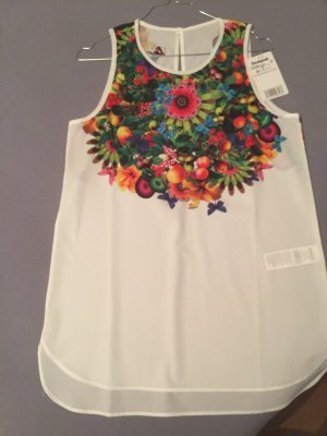 Desigual A-lijn top wit