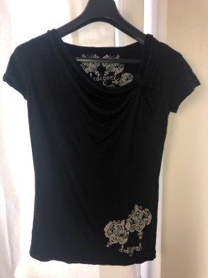 Desigual Top / Shirt ärmellos schwarz Gr. M (38) wie neu