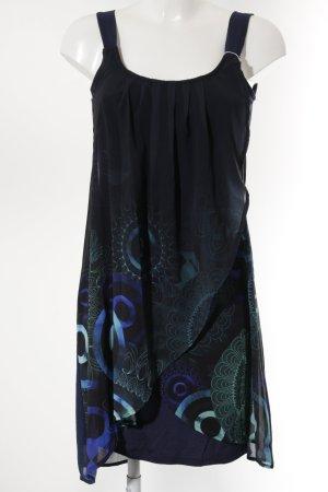 Desigual Trägerkleid abstraktes Muster Elegant
