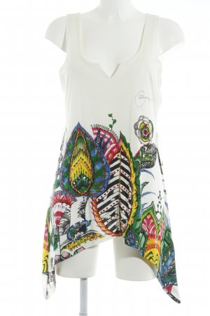 Desigual Strappy Top themed print casual look