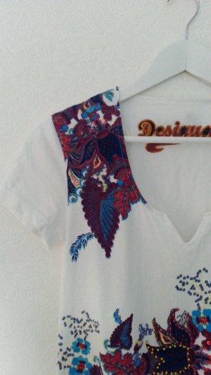 Desigual Camisa tipo túnica multicolor Algodón