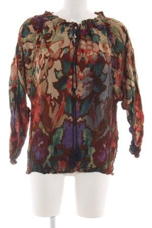 Desigual Blusa de túnica estampado con diseño abstracto look casual