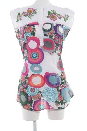 Desigual Tunique-blouse motif floral Look de plage