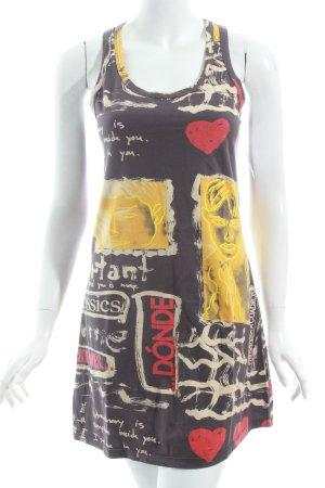 Desigual Tunikakleid abstraktes Muster Street-Fashion-Look