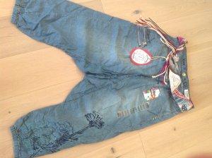 Desigual Jeans baggy bleu