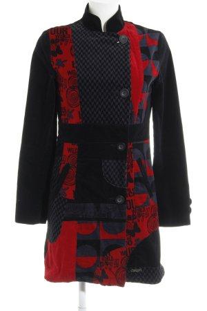 95d52b5af4d Desigual Abrigo de entretiempo estampado con diseño abstracto look casual