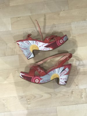 Desigual Wedge Sandals multicolored