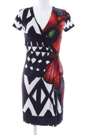 Desigual Robe portefeuille motif psychédélique imprimé aztèque