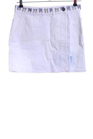 Desigual Wraparound Skirt white casual look