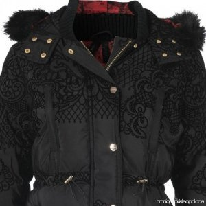 Desigual Winterjack zwart