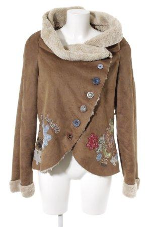 Desigual Veste d'hiver multicolore style extravagant