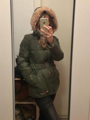 Desigual Winterjacke mit abnehmbaren Kaputze