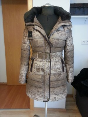 Desigual Wintermantel - gold