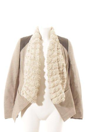 Desigual Woll-Blazer meliert extravaganter Stil