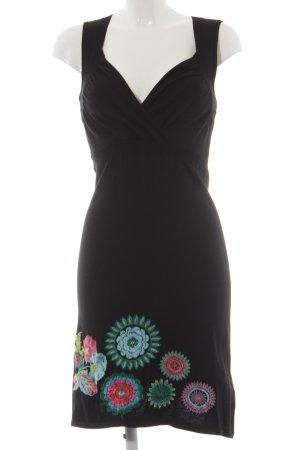 Desigual Wollen jurk bloemenprint casual uitstraling