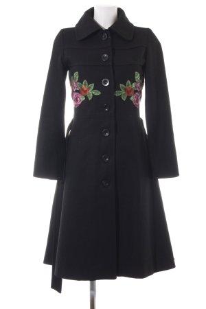Desigual Wool Coat black casual look