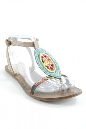 Desigual Toe-Post sandals multicolored beach look