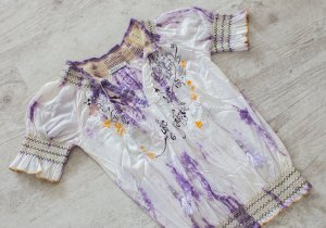 Desigual Batik shirt paars