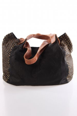 Desiree Lai Nostra Leather Bag With Studs and Python Straps