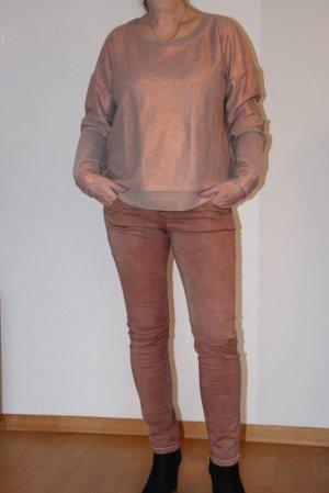desires Suéter color rosa dorado-gris claro