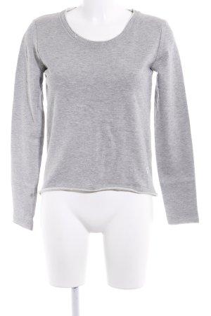 desires Sweatshirt hellgrau meliert Casual-Look