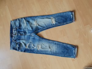 Boyfriend Trousers blue
