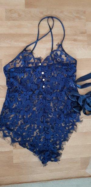 Lingerie blue-dark blue