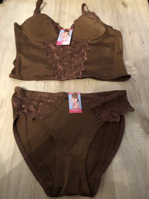 Set lingerie marrone